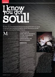 Drummer Magazine - 2010 - Interview with Eduardo Marques