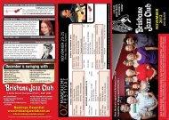 no vember 2012 gig guide - Brisbane Jazz Club