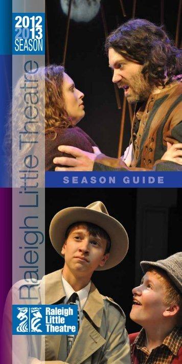 Season brochure - Raleigh Little Theatre