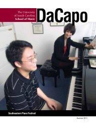 Summer - USC School of Music - University of South Carolina