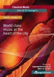 Classical Music - St George's Bristol