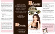 847-695-2255 Reminders Bridal Services - Karena's Salon and Spa