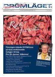 Föreningen inbjuder till Räkfrossa på nästa medlemsmöte tisdagen ...
