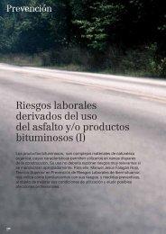 Riesgos laborales derivados del uso del asfalto y/o ... - Ibermutuamur