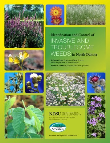 Identification and Control of Invasive and ... - NDSU Agriculture
