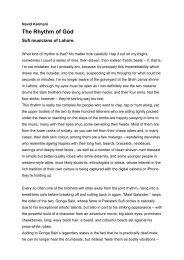 The Rhythm of God - Navid Kermani