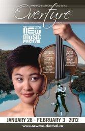 New Music Festival - Winnipeg Symphony Orchestra