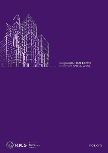 Corporate Real Estate : - URBAN Intergroup at the European ...