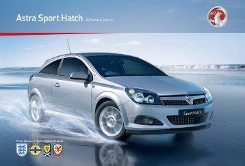 Astra Sport Hatch 2011 Models Edition 1 - Vauxhall