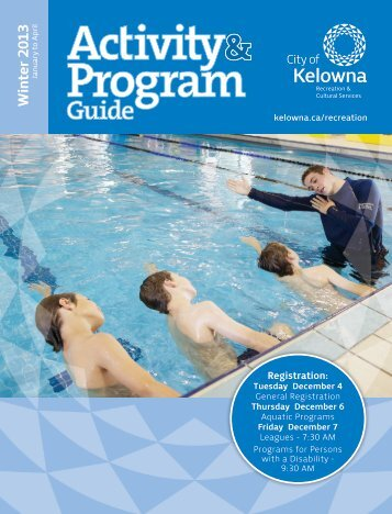 Rec Guide - City of Kelowna