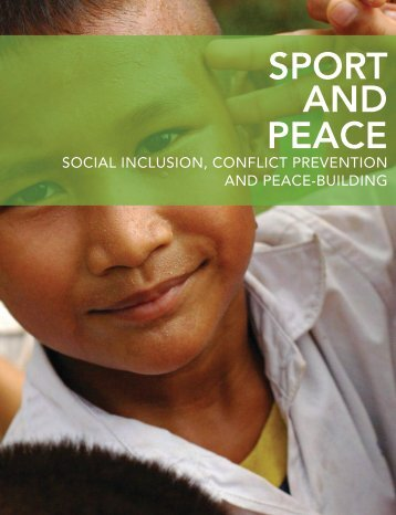 Sport and Peace: Social Inclusion, Conflict - Right to Play