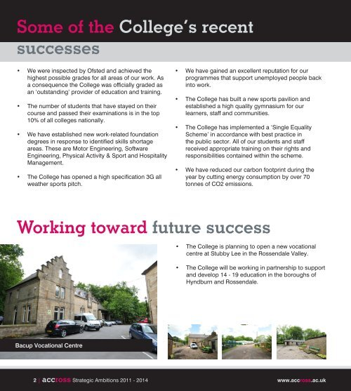 here - Accrington and Rossendale College