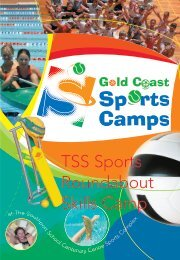 Download Sports Roundabout Flyer - The Southport School