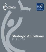 Strategic Plan - Accrington and Rossendale College