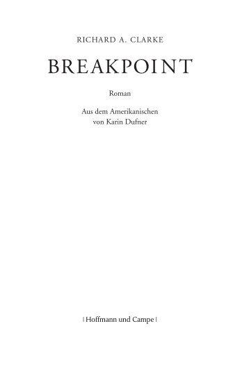 BREAKPOINT - Hoffmann und Campe Verlag