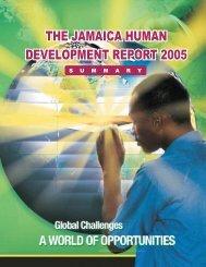 Jamaica National Human Development Report (JNHDR)