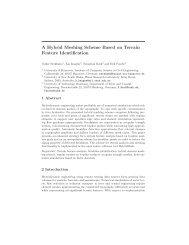 A Hybrid Meshing Scheme Based on Terrain Feature Identification