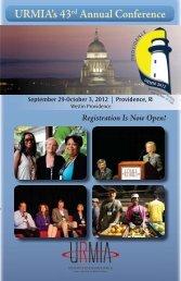 URMIA's 43rd Annual Conference