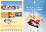 Advent, Weihnachten & Silvester in Lermoos - Hotel Post