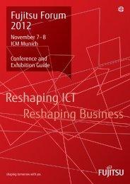 Fujitsu Forum Conference Exhibition Guide - Fujitsu Technology ...