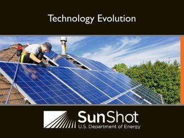 Modeling Solar Energy Technology Evolution breakout ... - EERE