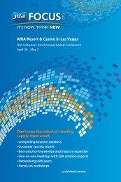 ARIA Resort & Casino in Las Vegas - JDA Software Group, Inc.
