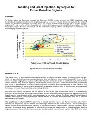 Boosting and Direct Injection - Synergies for Future Gasoline Engines