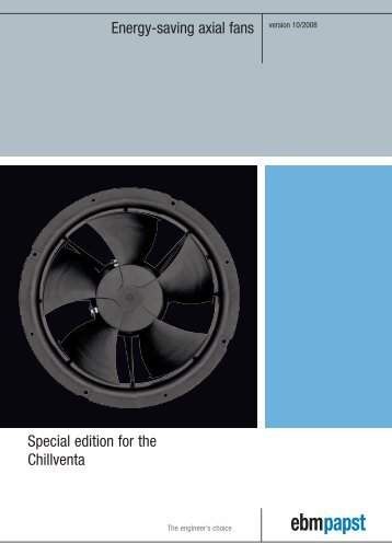 Energy-saving axial fans version 10/2008 Special edition for the ...