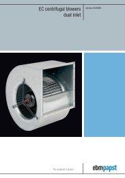 EC centrifugal blowers dual inlet - La Panthera
