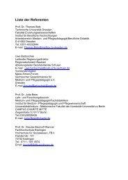 Liste der Referenten - Ost-West-Bildungsdialog