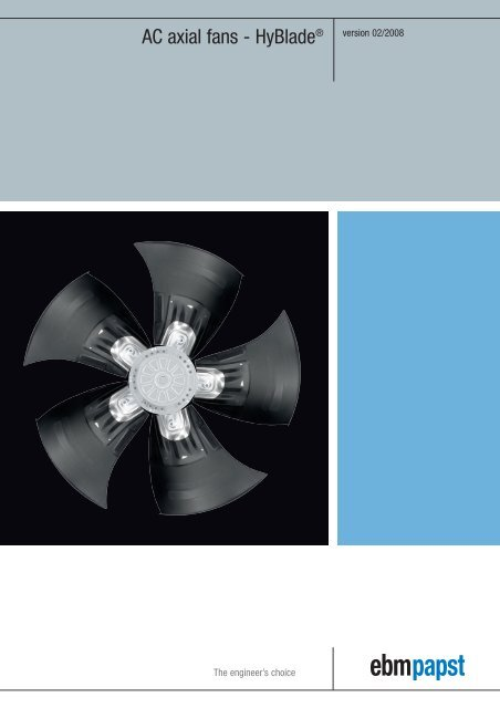 💌 Ebm papst fans pdf | Centrifugal fans and blowers, EC centrifugal