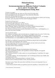 Diskussionsbeitrag zum Kormoransymposium des Deutschen ...