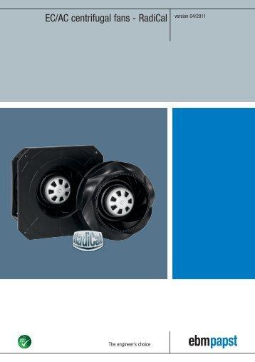 EC/AC centrifugal fans - RadiCal version 04/2011 - Ebm-papst Oy