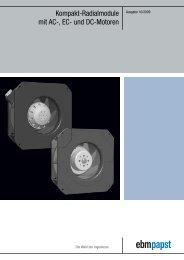 Kompakt-Radialmodule mit AC-, EC- und DC-Motoren - Breuell ...
