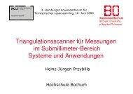 Triangulationsscanner für Messungen im Submillimeter-Bereich ...