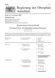 Regierungsamtsblatt9 - Regierung der Oberpfalz