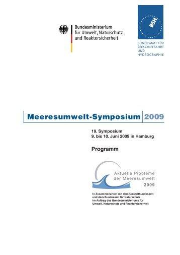 Meeresumwelt-Symposium 2009 - GKSS