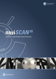 naviSCAN3D - units Industrielle Messtechnik, Engineering ...