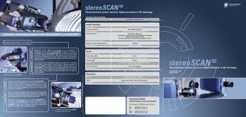 stereoSCAN3D - 3btarama.com
