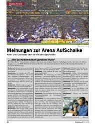 Meinungen zur Arena AufSchalke - Stadionwelt-Fans