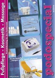 Fußpflege - Kosmetik - Massage - Podospecial