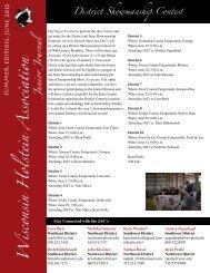 Wisconsin Holstein A ssociation Junior Journal