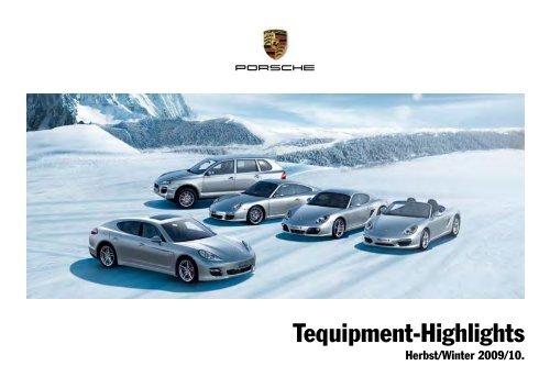 Tequipment Herbst/Winter 2009/10 als PDF-Dokument - Porsche