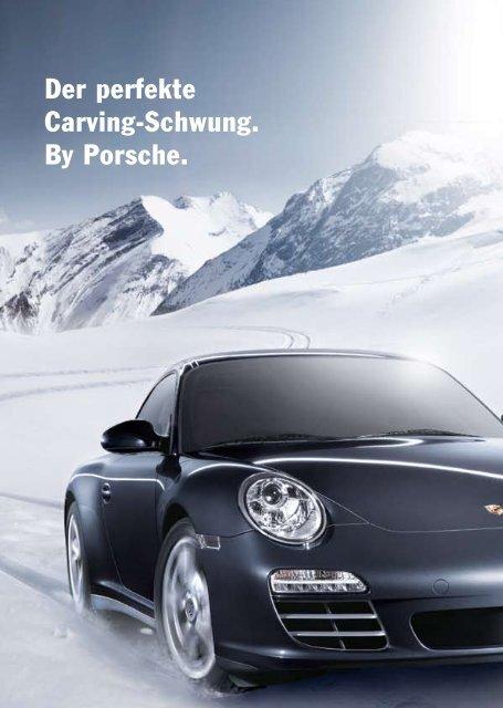 Der perfekte Carving-Schwung. By Porsche.