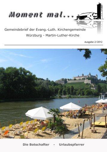 Gemeindebrief zweite Ausgabe 2010