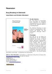 Rezension Burg Breuberg im Odenwald