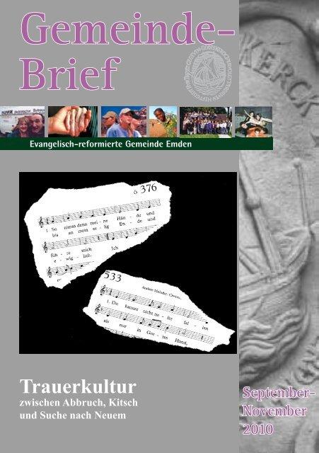Gemeindebrief 04/2010 - Evangelisch-reformierte Kirche
