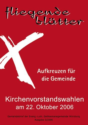 Gemeindebrief 05 2006 - Evangelisch-Lutherische ...