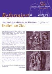 Endlich am Ziel. - Evangelisch-reformierte Gemeinde Braunschweig