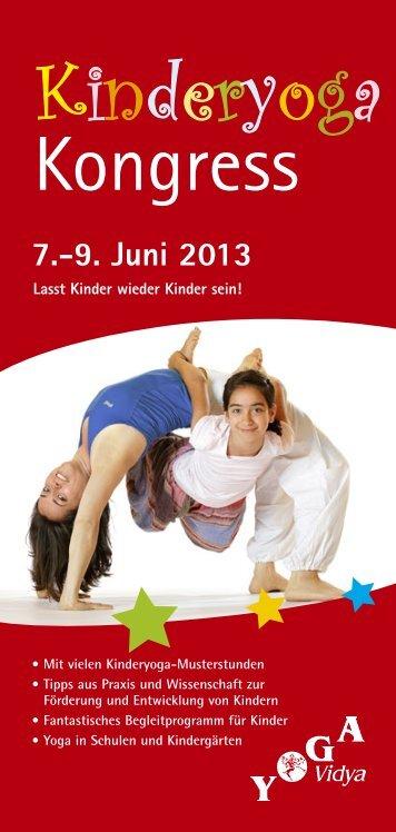 Kinderyoga Kongress 2013 - Yoga Vidya
